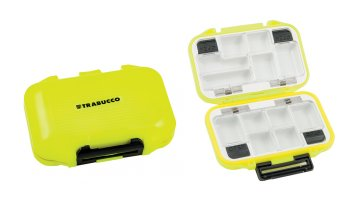 ΚΟΥΤΙ TRABUCCO TOUGH ACCESSORIES BOX LIME 12 ΘΕΣΕΩΝ