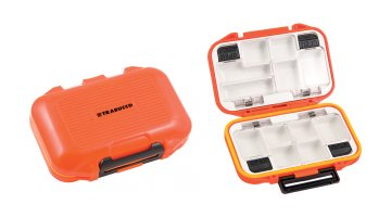 ΚΟΥΤΙ TRABUCCO TOUGH ACCESSORIES BOX ORANGE 12 ΘΕΣΕΩΝ