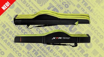 ΘΗΚΗ ΚΑΛΑΜΙΩΝ TRABUCCO XTR HARD ROD & REEL CASE 2+1 COMPARTMENTS (186x34x16cm)