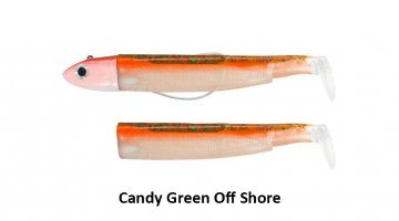 ΣΕΤ BLACK MINNOW 200 / No6 OFF SHORE - CANDY GREEN