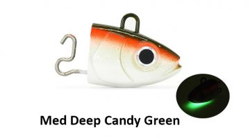 ΚΕΦΑΛΕΣ BLACK MINNOW 200 / No6 MED DEEP - CANDY GREEN 150gr