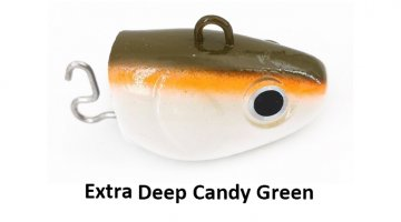 ΚΕΦΑΛΕΣ BLACK MINNOW 200 / No6 EXTRA DEEP - CANDY GREEN 240gr