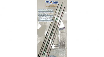 ΚΑΛΑΜΙ BAD BASS MAREGGIATA PRO (ALCON) 3.95m/200gr SURF CASTING