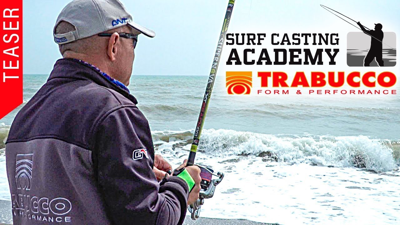 Trabucco TV - Surfcasting Academy 2019 Teaser 3 - Towards the tidal peak