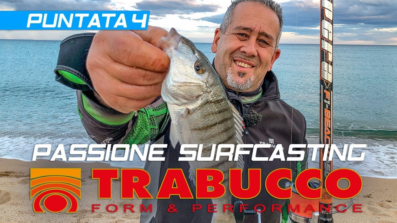 Trabucco TV - SURFCASTING PASSION 2019 - Spring Beach - Episode 4