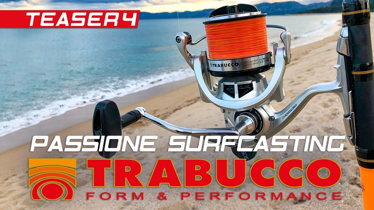 Trabucco TV - SURFCASTING PASSION 2019 - Spring Beach - Teaser 4