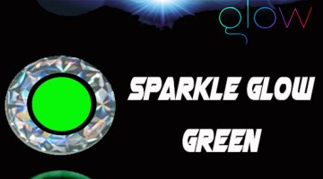 ΜΑΤΑΚΙΑ GFS 4D LIVE EYES 12mm SPARKLE GLOW ΠΡΑΣΙΝΟ/GREEN