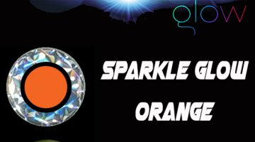 ΜΑΤΑΚΙΑ GFS 4D LIVE EYES 12mm SPARKLE GLOW ΠΟΡΤΟΚΑΛΙ/ORANGE