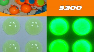 ΜΑΤΑΚΙΑ GFS 4D LIVE EYES 10mm FLUO LUMINOUS ΚΙΤΡΙΝΟ/YELLOW
